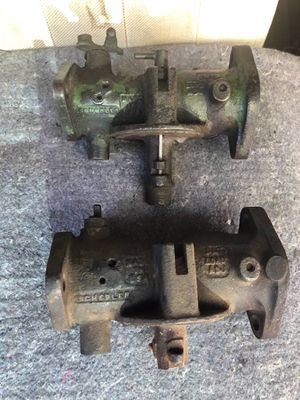 (2) John Deere Marvin Schebler Antique Vintage Carburetors for Sale in Atlanta, GA