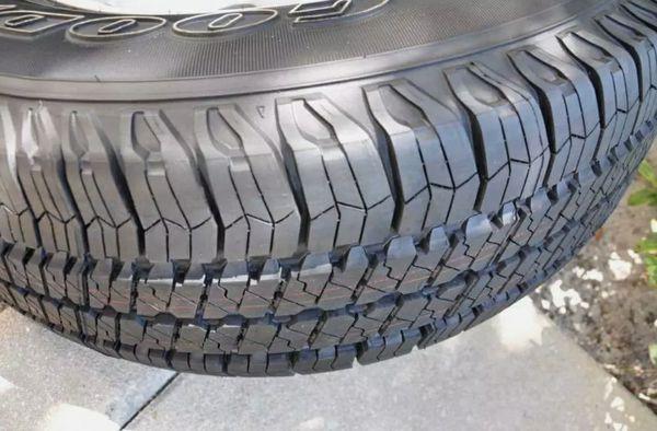 RIMS WHEEL. 2015 Jeep Wrangler. TIRES 60%