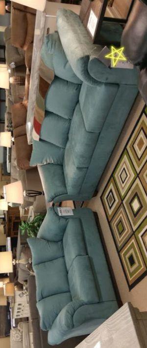 Darcy Sky Sofa and Loveseat for Sale in UNIVERSITY PA, MD