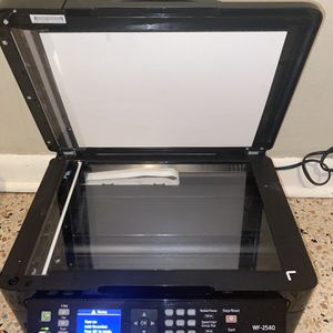 Epson WF-2540 Ink Jet Printer Scanner Copier Fax For Parts Or Repair for Sale in Miami, FL