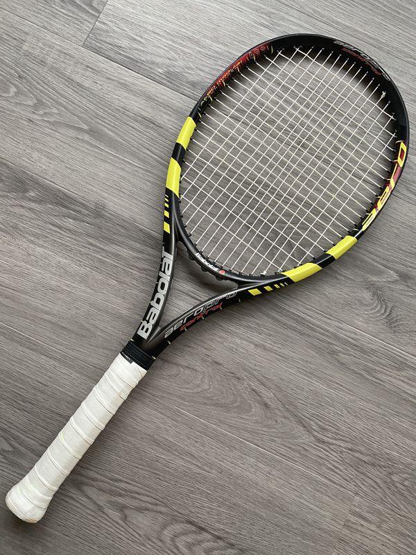 Very Rare Babolat AeroPro Control Tennis Racket - Grip L3 4 3/8