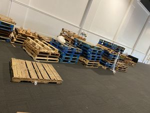 Pallets come get them !!! $100 message me for address for Sale in San Diego, CA