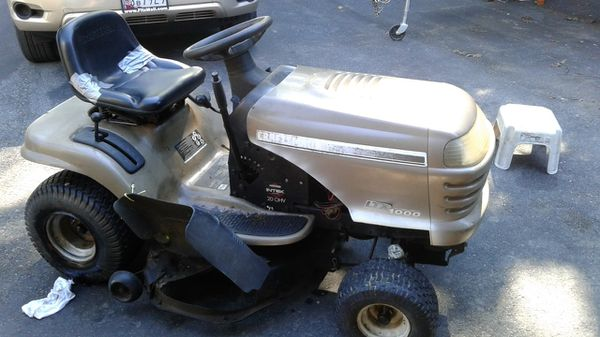 Craftsman tractor for sell