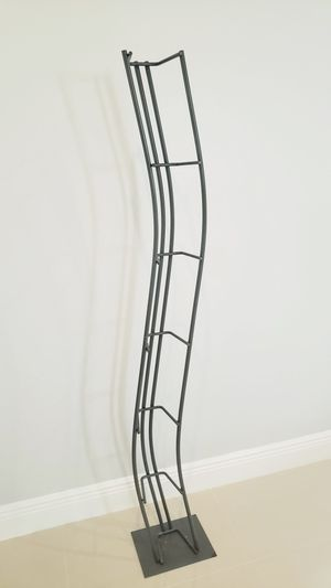 Modern style CD rack, metal, holds 144 CD's for Sale in Fort Lauderdale, FL