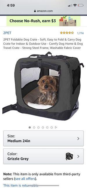 EliteField medium dog crate for Sale in Milwaukie, OR