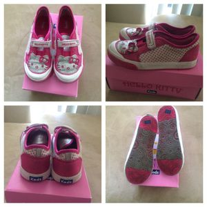 Girls Hello Kitty Keds Glitter Size 11 1/2 M for Sale in Adelphi, MD