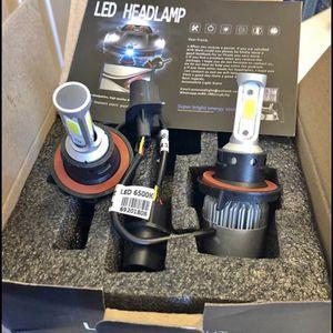Brand New 2 Bulbs Car led headlights kit leds H4 H7 H8 H9 and H11 /H10 /9003 and 9004/9005/HB3 and 9006/HB4 /and 9007/9008 H13 $35 Each Pair(2X Le for Sale in Newburgh Heights, OH