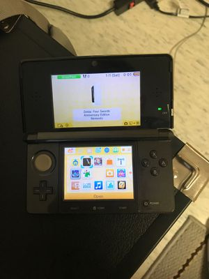 Nintendo 3DS with Games and Charger for Sale in Salem, MA
