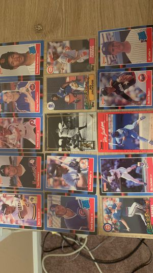 Donruss and topps baseball cards rare. for Sale in Livermore, CA