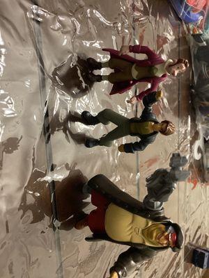 Treasure Planet McDonalds Figure Toys Lot 3 Jim Hawkins,John Silver, Dr. Doppler for Sale in Forney, TX