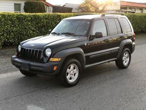2007 Jeep Libery 4x4 for Sale in Tacoma, WA