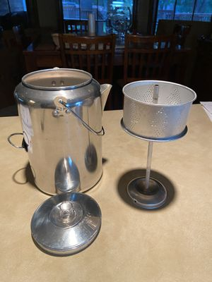 Camping Coffee Pot for Sale in Whitehouse, TX