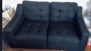 Black Sofa and Loveseat for Sale in Washington, DC