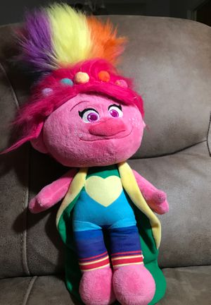 "22"" trolls stuffed animal$23 for Sale in Menifee, CA"