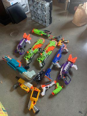 Nerf guns lot for Sale in Whittier, CA