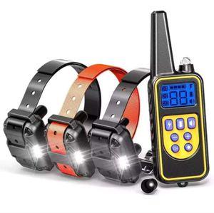 (3 receiver)Dog training Shock Collar anti-bark collar 880 Yard for Sale in SIENNA PLANT, TX