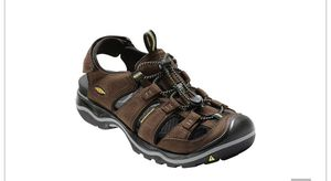 Keen Rialto men's brown hiking rafting water sandals shoes size 7.5 7 1/2 NEW for Sale in Escondido, CA