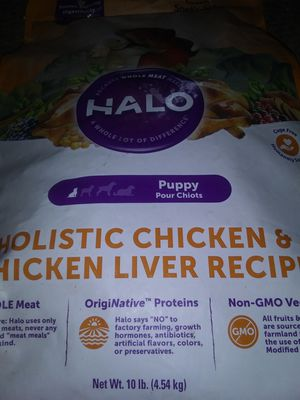 Halo puppy food for Sale in East Bend, NC