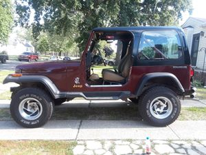 91 Jeep yj Wrangler for Sale in Canton, MI
