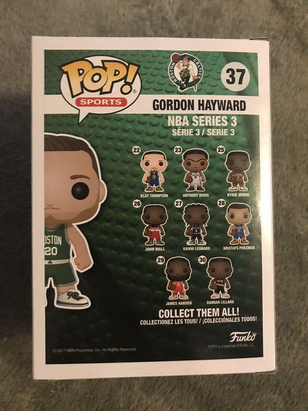 Funko NBA Boston Celtics POP Gordon Hayward Vinyl Figure NEW IN STOCK Toys #37