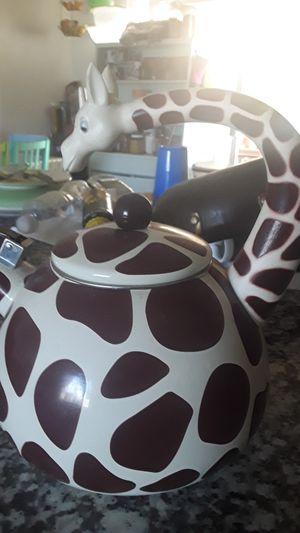 Giraffe tea kettle for Sale in San Diego, CA