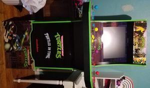 Teenage Mutant Ninja Turtles Arcade Game With Riser for Sale in Milton, FL