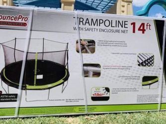 Brand New 🎁 Trampoline 14 FT For Family💗❤️👨👩👧👦 for Sale in Stockton,  CA