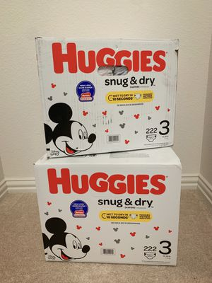 Huggies Snug & Dry Size 3 for Sale in Waxahachie, TX