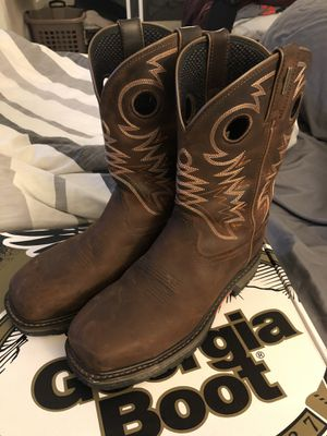 Georgia boots work. for Sale in Las Vegas, NV