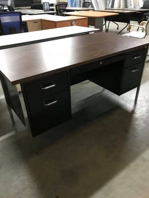 Wood top teachers desk for Sale in West Columbia, SC