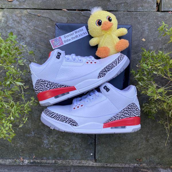 VNDS Nike Air Jordan Retro 3 III Katrina Hall Of Fame - Mens Sz 10.5