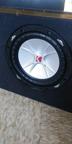 """8"""" SUBWOOFER KICKER 400W 200RMS 👉$50 FIRM👈 for Sale in Compton, CA"""
