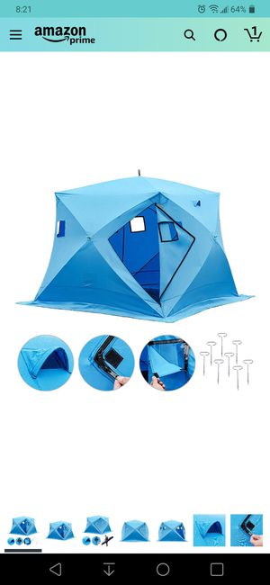 Ice fishing tent for Sale in Fontana, CA