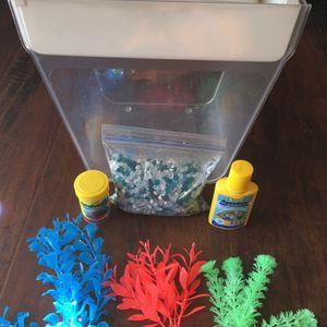 Betta Aquarium , All U See For $9 for Sale in Stockton, CA