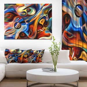 Abstract Canvas Wall Art Print Painting Office Home Room for Sale in Marquette, MI