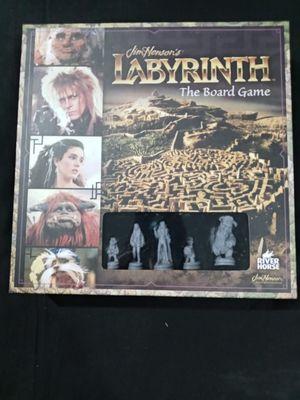 John Henson Labyrinth board game for Sale in Wayne, MI