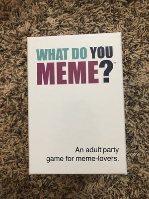 What do you Meme Game for Sale in Bettendorf, IA
