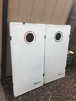 Cornhole boards light weight for Sale in Phoenix, AZ