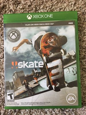 Skate 3 video game Xbox 360/One for Sale in Austin, TX