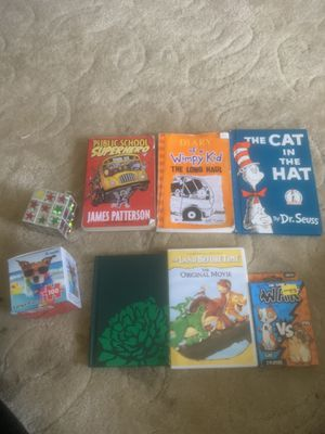 KIDS BOOKS/NEW PUZZLE/CARD GAME for Sale in Parma Heights, OH