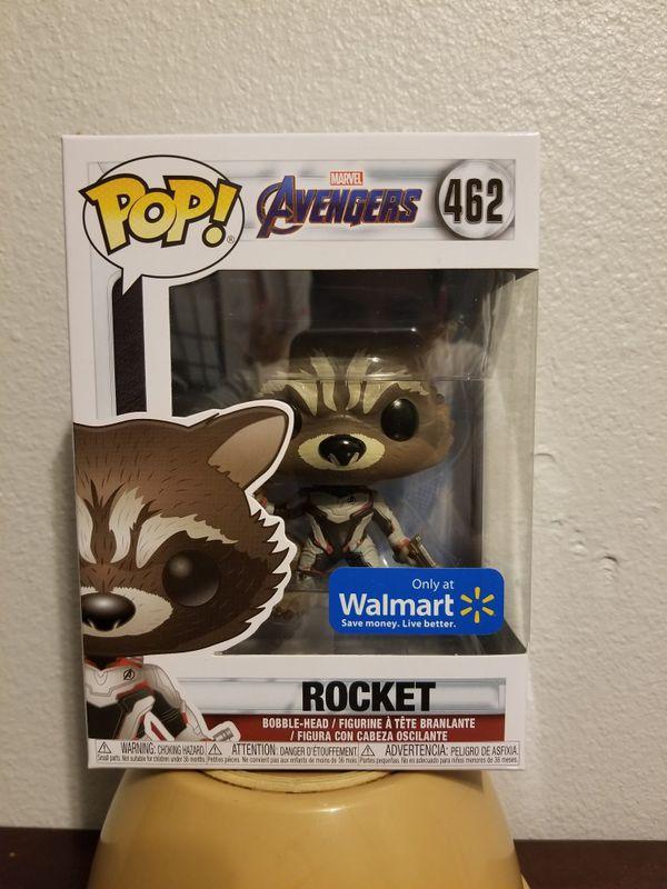 Rocket raccoon endgame Walmart exclusive funko pop