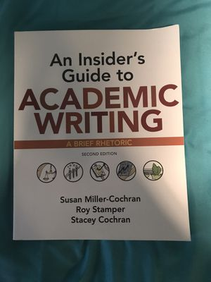 An Insiders Guide to Academic Writing for Sale in Delaware, OH