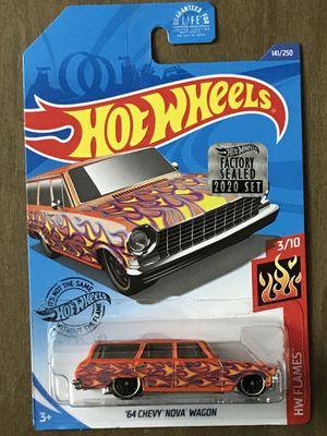 Hot Wheels Chevy Nova Wagon orange flames for Sale in Covina, CA