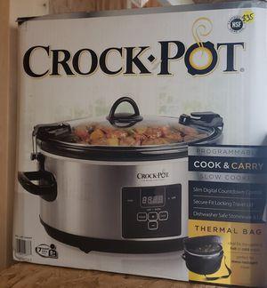 Crock pot 7 Qt digital slow cooker for Sale in Jacksonville, FL