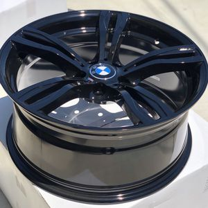 "Brand new 19"" gloss black BMW style wheels 5x120 all 4 PRICE IS FIRM! for Sale in Norwalk, CA"