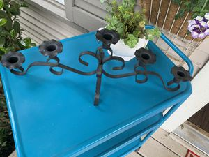 Vintage wrought iron taper candle holder for Sale in Everett, WA