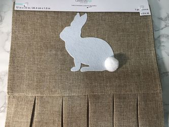 Bunny And Burlap Table Runner for Sale in Hacienda Heights,  CA