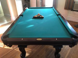 Olhausen. Pool table. Regulation size. High quality. Above Brunswick. for Sale in Elgin, IL