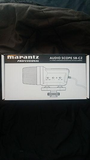 Brand new Marantz audioscope microphone SB - C2 for Sale in Gilbert, AZ