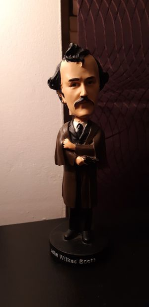 John wilkes booth bobble head for Sale in Fort Lauderdale, FL